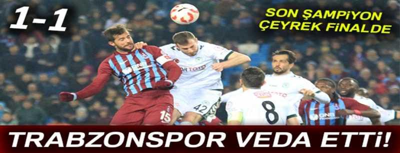 Trabzonspor 1-1 Konyaspor
