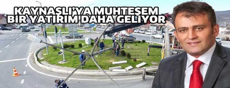 KAYNAŞLI'YA YENİ SİMGE