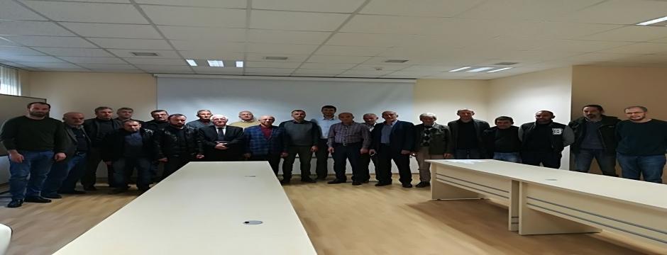 Düzce Üniversitesi gönüllü çiftçilerle sözleşme imzalamaya devam ediyor