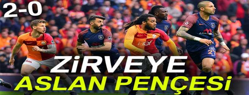 Galatasaray 2-0 Başakşehir