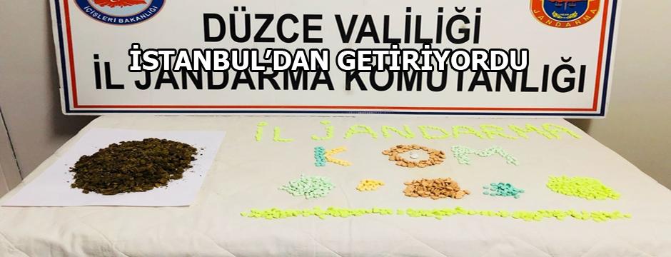 DÜZCE'YE GİREMEDİ