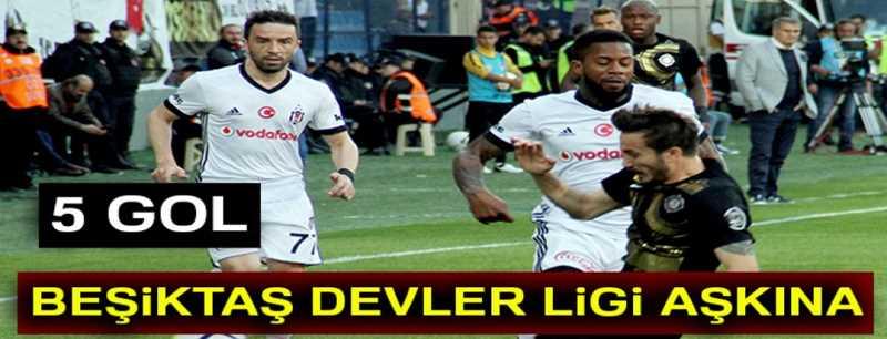 Osmanlıspor 2 - Beşiktaş 3