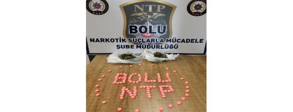 Bolu?da uyuşturucu operasyonu: 2 gözaltı