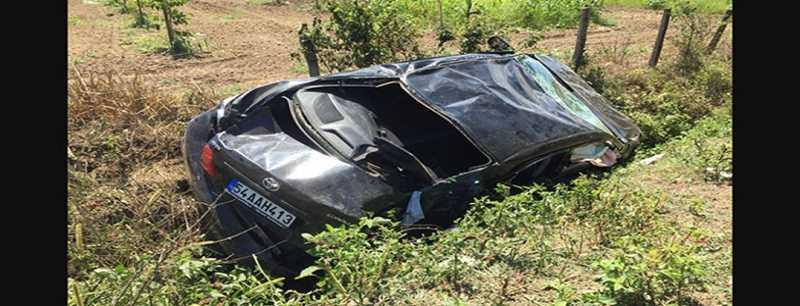 Sakarya'da trafik kazası: 5 yaralı.