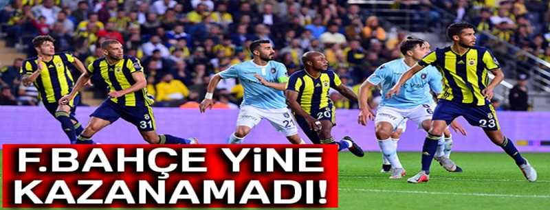 Fenerbahçe 0-0 Başakşehir