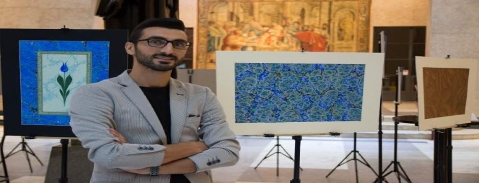 Düzce Üniversitesi Latin Amerikalılara Ebru Sanatını tanıttı