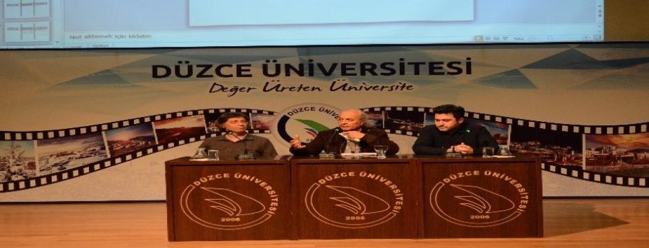 DÜ'de çağdaş sanatla ilgili konferans düzenlendi