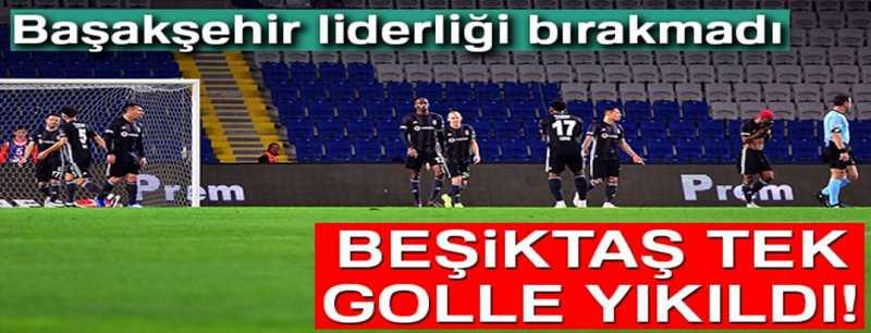 Başakşehir 1-0 Beşiktaş