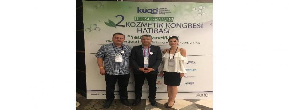 Düzce Üniversitesi Kozmetik kongresinde