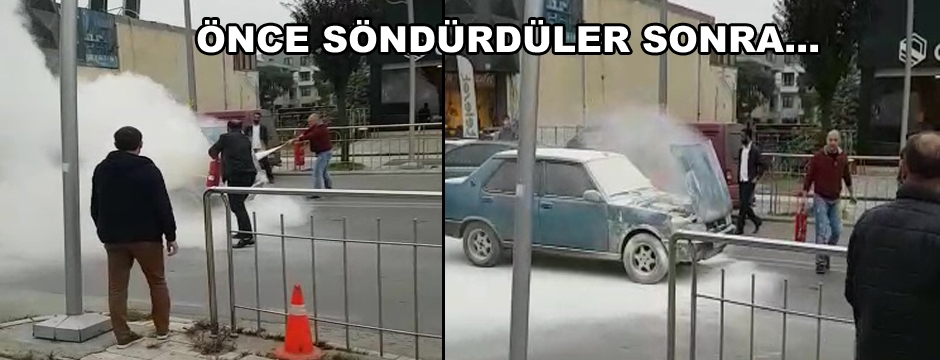 VATANDAŞLAR SEFERBER OLDU