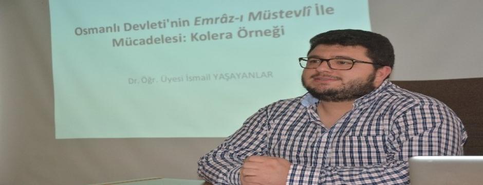 DÜ'de Osmanlı'nın kolera hastalığı ile mücadelesi anlatıldı