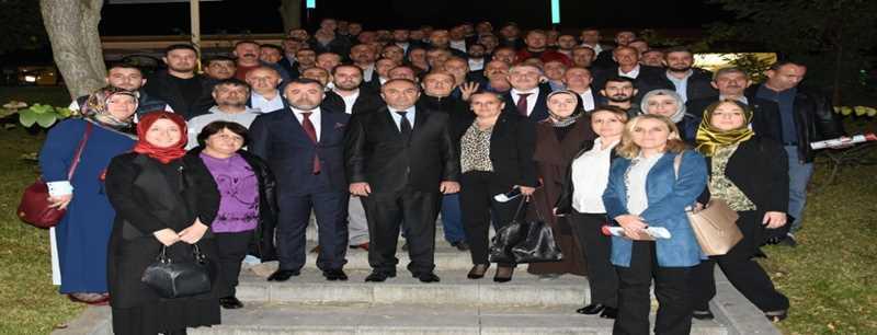 İSTİŞARE TOPLANTISINDA BİR ARAYA GELDİLER