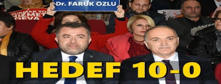 FARUK ÖZLÜ DÜZCE'Yİ 10 - 0 YAPMAK İÇİN GELDİ...