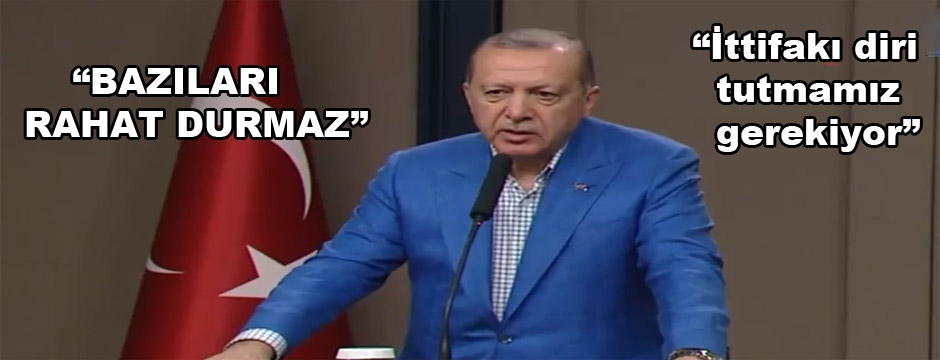CUMHURBAŞKANI ERDOĞAN DÜZCE'Yİ Mİ İŞARET ETTİ