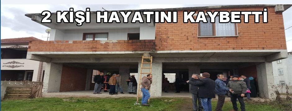 AĞA MAHALLESİ'NDE SOBA ZEHİRLENMESİ
