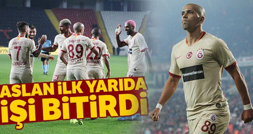 Gaziantep 0-2 Galatasaray