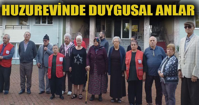 Huzurevi sakinleri Atatürk'ü unutmadı