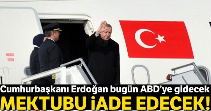Cumhurbaşkanı Erdoğan mektubu iade edecek