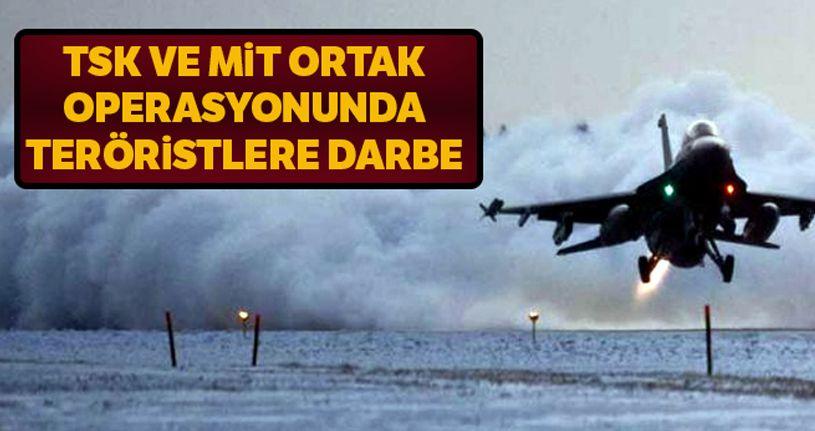 MSB: TSK ve MİT ortak operasyonunda 8 terörist etkisiz hale getirildi