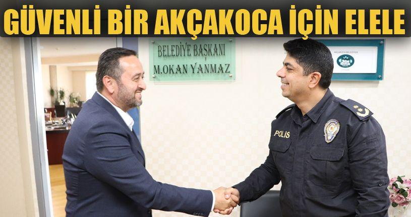Başkan Yanmaz ve Emniyet Müdürü Ünsal buluştu