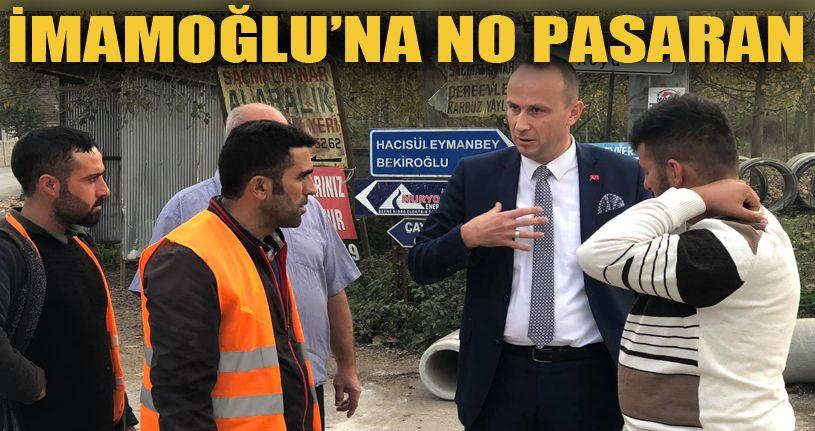 Düzceli Köy muhtarından İstanbul Büyükşehir Belediyesi'ne rest