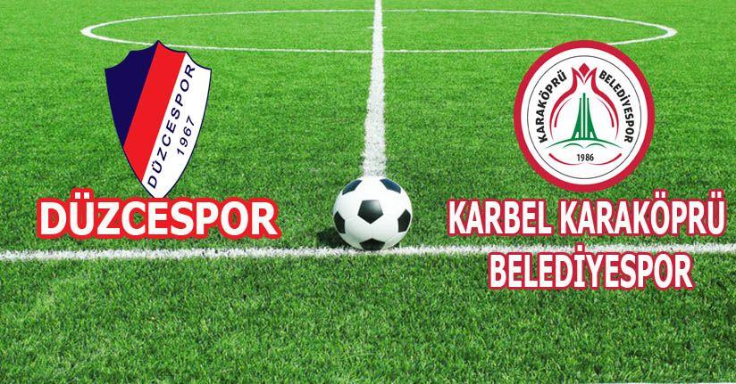 Düzcespor: 1 - Karbel Karaköprü Belediyespor: 0
