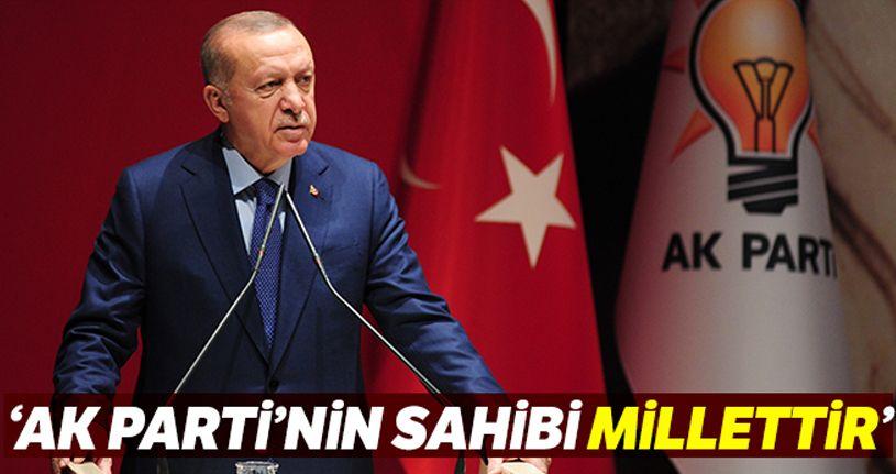 """Cumhurbaşkanı Erdoğan: """"AK Parti'nin sahibi millettir"""""""