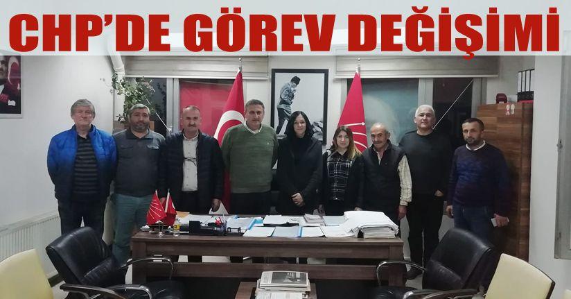 CHP Merkez İlçe Yönetimi Yenilendi