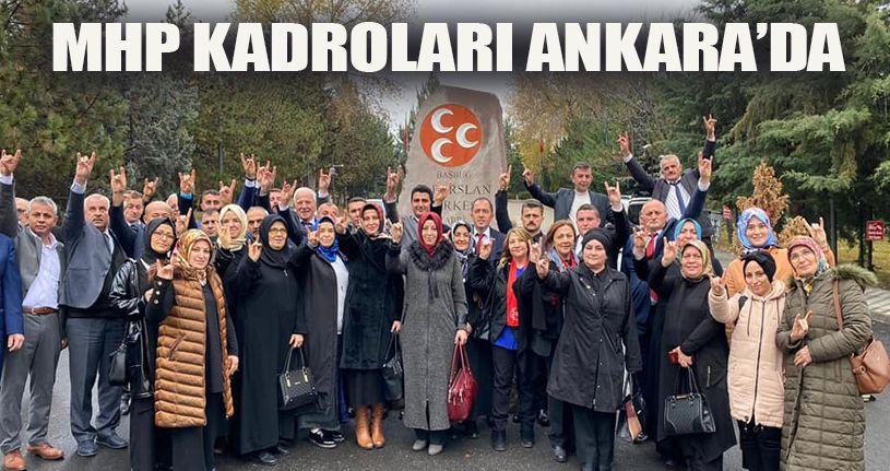 MHP Ankara'ya Çıkarma Yaptı
