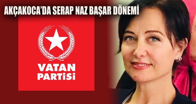 Akçakoca'nın yeni başkanı Serap Başar