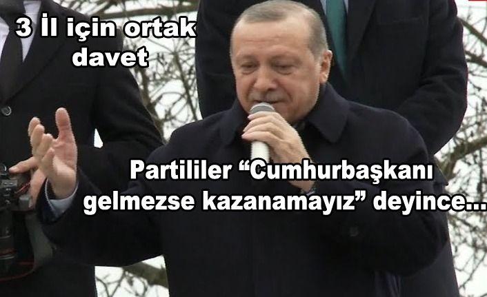 Erdoğan Mitinge Davet Edildi