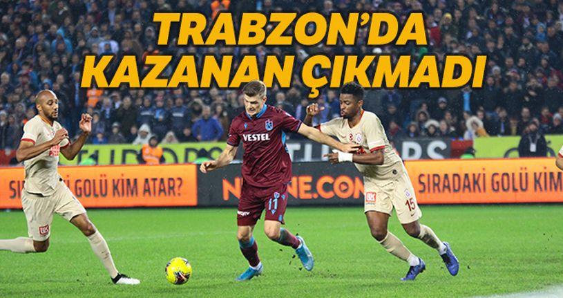 Trabzonspor 1-1 Galatasaray