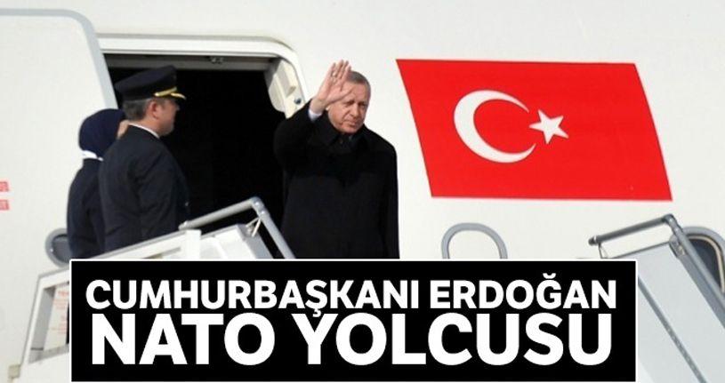 Cumhurbaşkanı Erdoğan NATO yolcusu