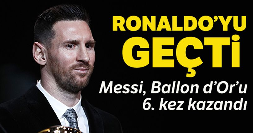 Ballon d'Or 2019 Messi'nin