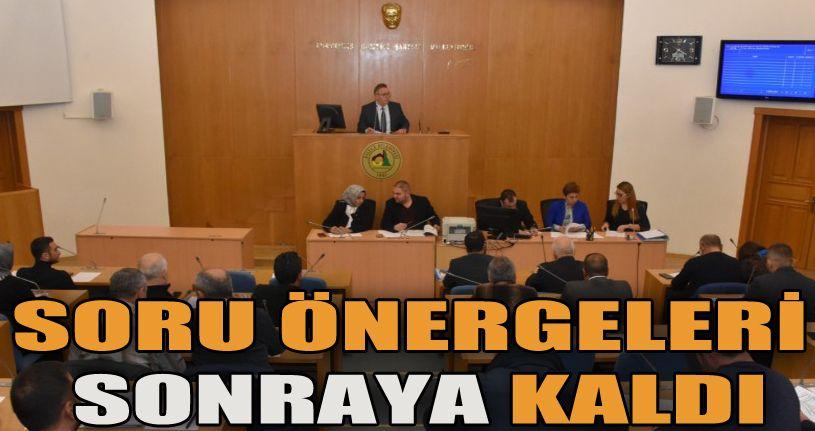 Mecliste 10 Madde Görüşüldü