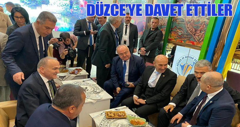 Düzce İzmir'de fuarda tanıtıldı