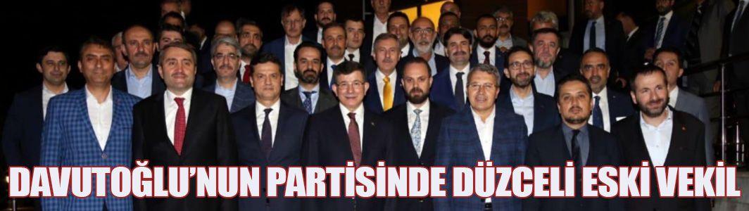 Davutoğlu'nun Yeni Partisinde Sürpriz İsim