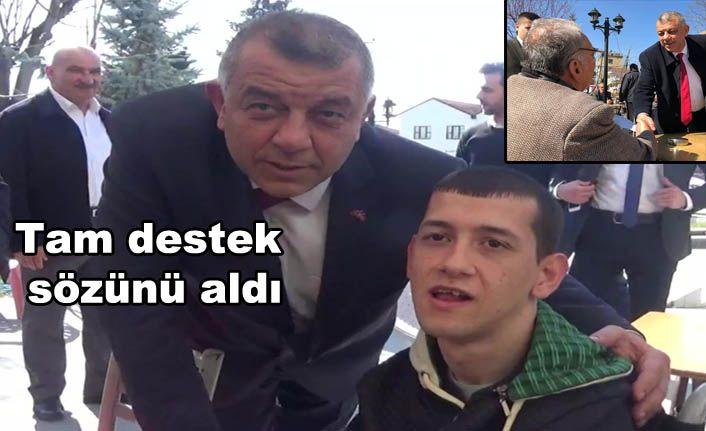 Erdoğan Bıyık Konuralp'e Çıkarma Yaptı