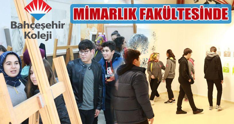 Bahçeşehir Koleji öğrencileri Düzce Üniversitesi'ni gezdi