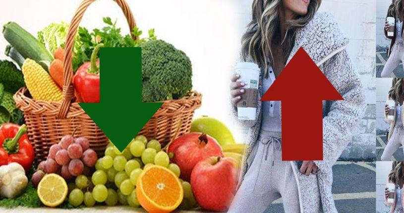 Sebze meyve ucuzladı giyim zamlandı