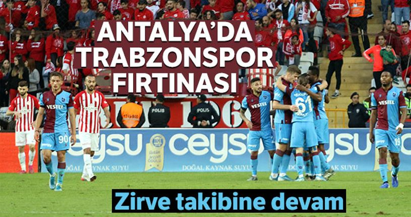 Antalyaspor 1-3 Trabzonspor