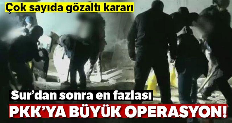 Diyarbakır'da toprağa gömülü cephanelik ele geçirildi
