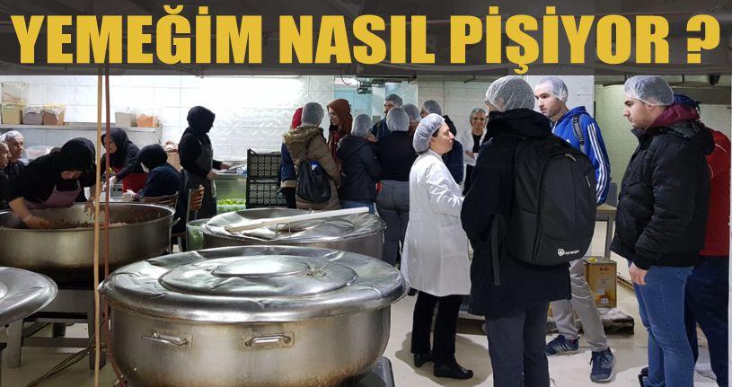 Düzce Üniversitesi Öğrencileri Açık Mutfakta Buluştu