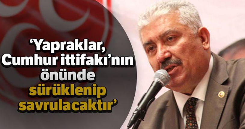 MHP'li Yalçın'dan yeni kurulan partilere tepki