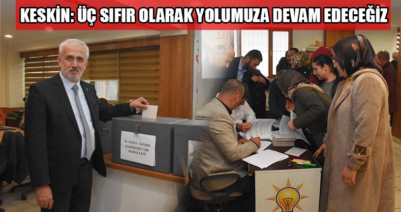 AK Parti'de Delege Seçimi Tamamlandı