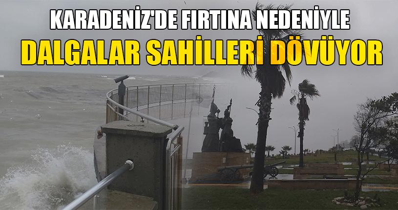 Batı Karadeniz'de Yağışlar Devam Ediyor