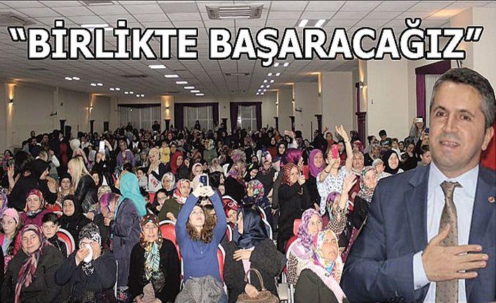 Gümüşovalı Kadınlardan Muharrem Tozan'a destek