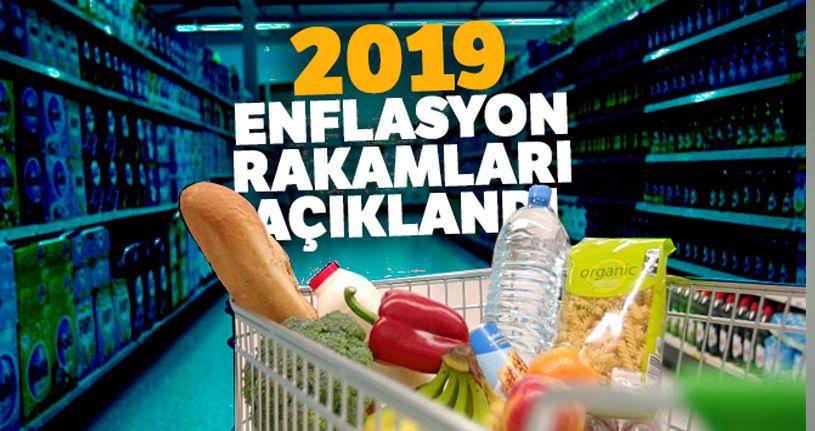 2019 enflasyon rakamları belli oldu