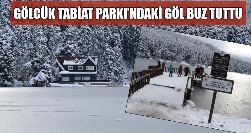 Buz Tutan Göl Kartpostallık Görüntüler Oluşturdu