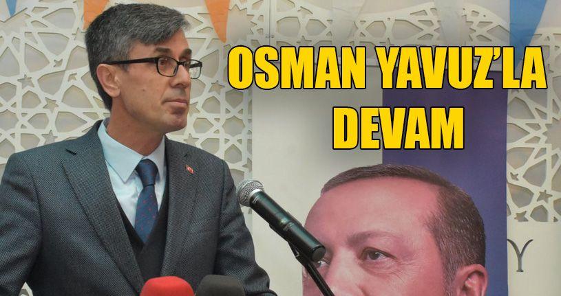 Beyköy'de AK Parti 7. Olağan Kongresi yapıldı